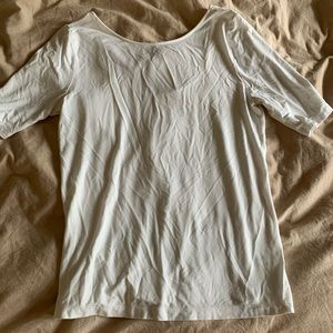 A New Day Scoop Back Tee, size M